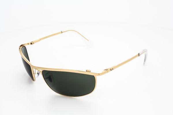 fed89693c6100 Ray Ban Demolidor RB8012 Dourado lentes Verde G-15 - Loja de fullquality